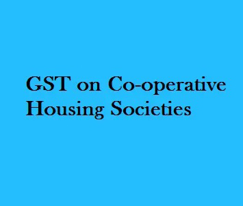 GST Consultancy for Coperative Society