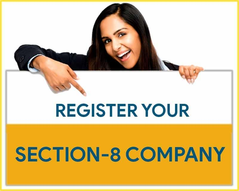 Section 8 Non Profit Company Registration