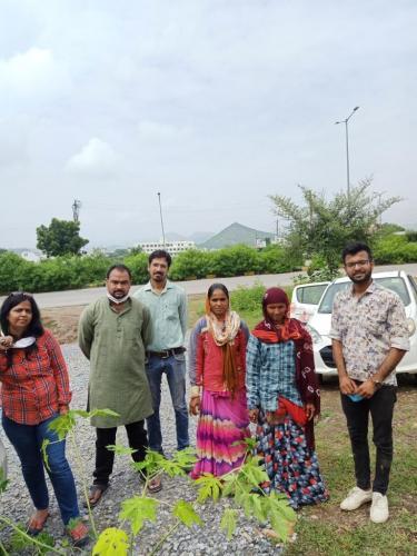 3-Tree Plantation Govt sen sector-4
