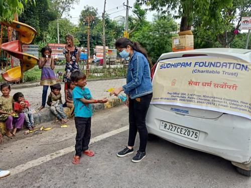 Food distribution sukhdiya circle(3)