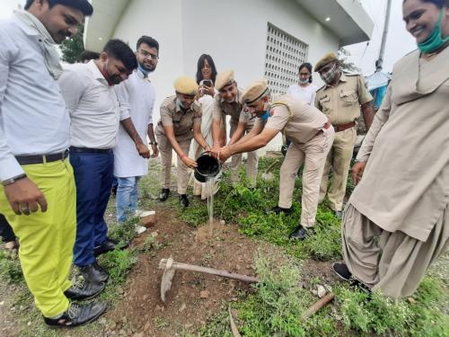 Planation by Staff of Savina Police Station
